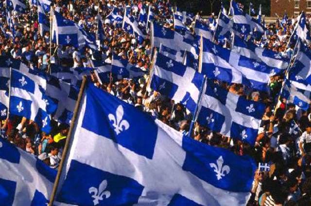 Nationalism in Quebec from 1960 onwards