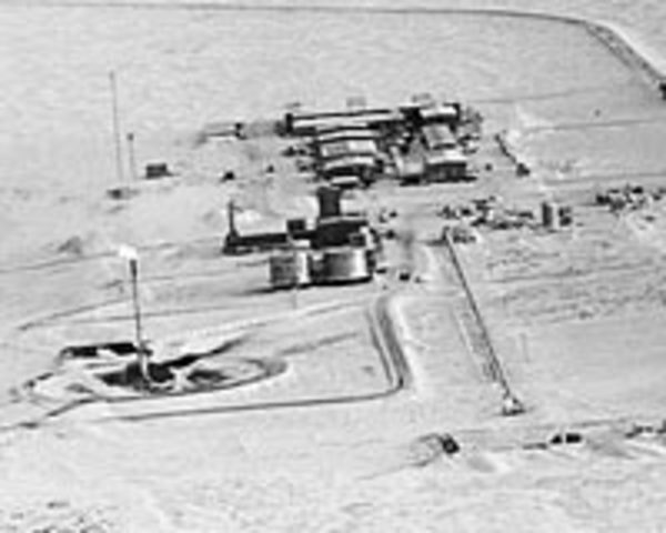 Largest oil field at Prudhoe Bay