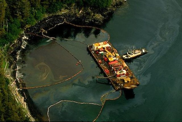 Oil Spill at Prince William Sound