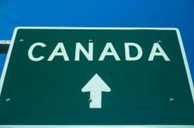My uncle and aunt moved to Canada