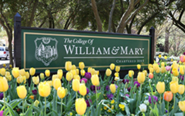 College of William and Mary is Founded
