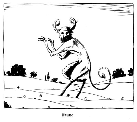 Mito de las patas de cabra y las lamias castúas.