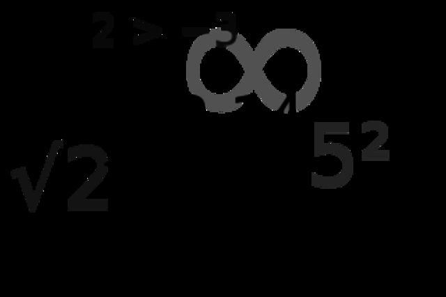 Операции с числами (точная дата не известна)