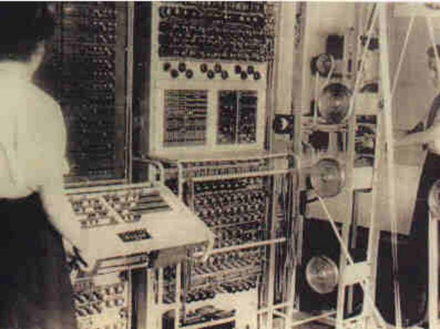 1º Generacion de los ordenadores
