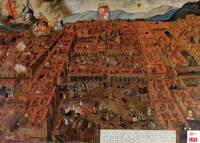 Earthquake Destroys Cuzco, Peru