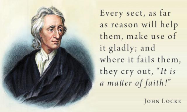 John Locke was released from Exile