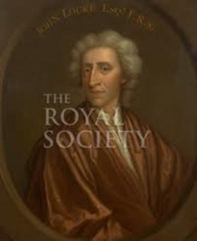 Made a fellow of the Royal Society