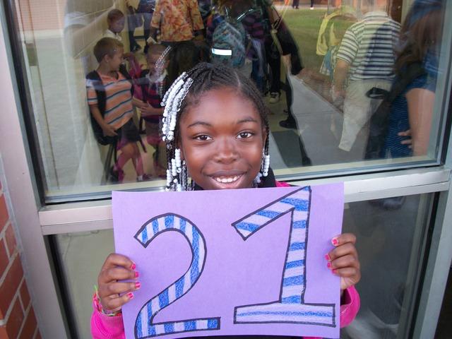 The Twenty-First Day of School