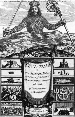 Thomas Hobbes published Leviathan
