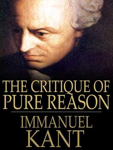 Immanuel Kant publishes Critique of Pure Reason