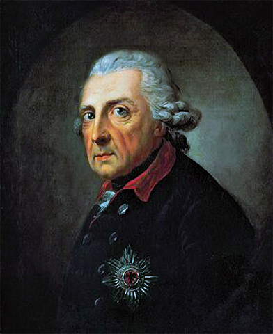 Fredrick the Great of Prussia comes to power