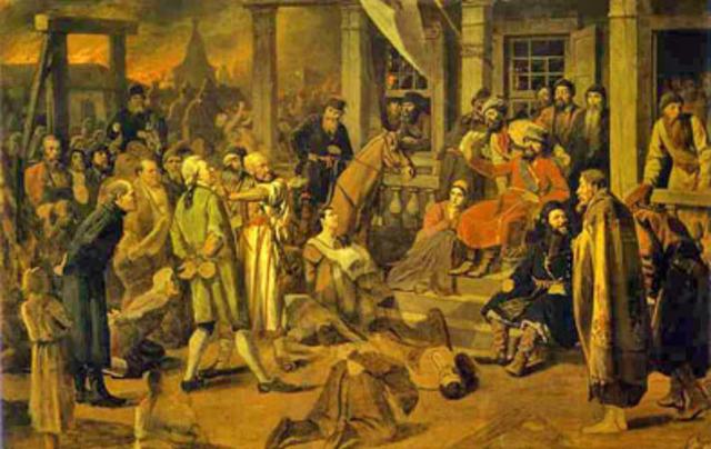 Pugachev's Rebellion (1771-1775)