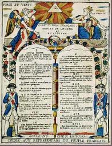 Declaration of Rights of Man and Citizens