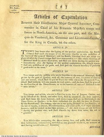 Articles of Capitulation