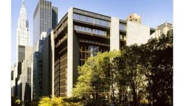 Creation of Ford Foundation