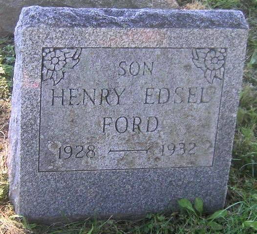 Edsel Ford Dies
