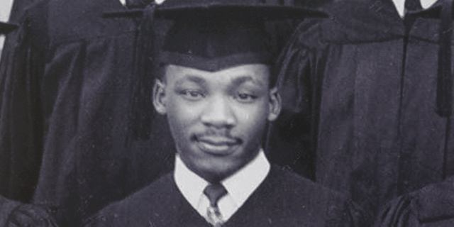 Martin Luther King attends college