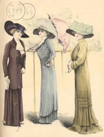 Moda de 1910