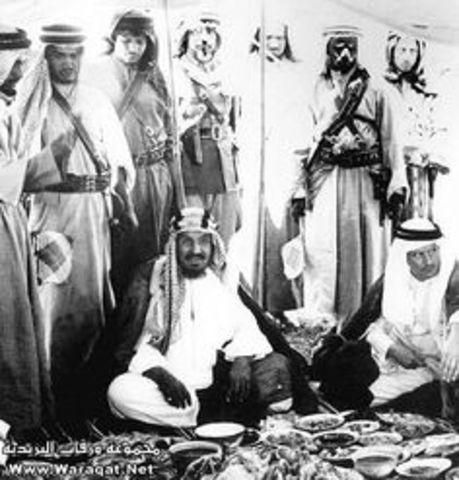 King Abdulaziz arrangement.