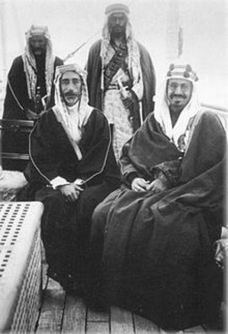 King Abdulaziz made.