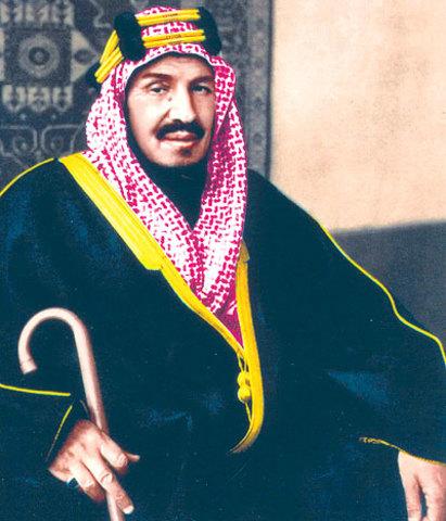 Ibn Saud in the Battle of Sabilla.