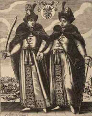 Peter became Co-tsars with Ivan V