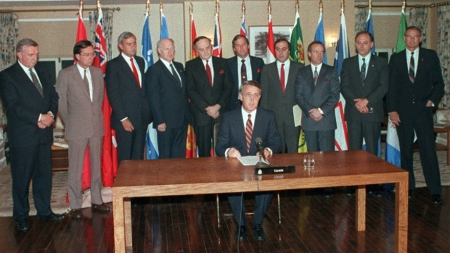 Meech Lake Accord and Charlottetown Agreement