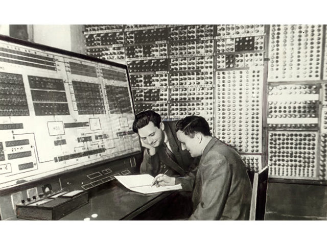First Russian computer
