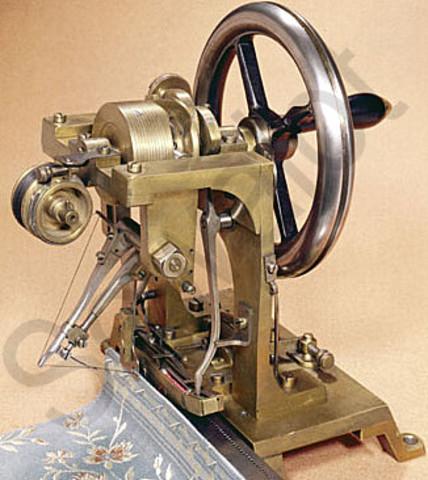 ELÍAS HOWE: SEWING MACHINE