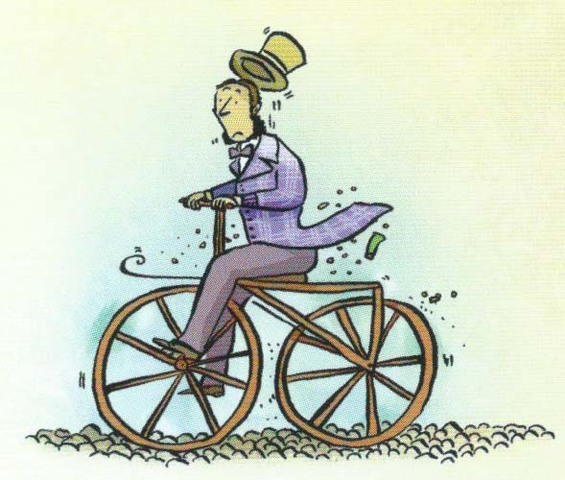 PIERRE MICHAUX: MODERN BICYCLE (VELOCIPEDE)