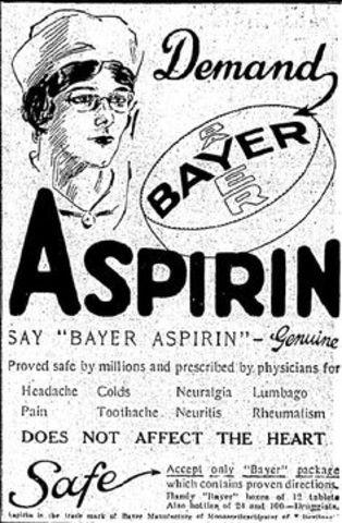 FELIX HOFFMANN: ASPIRIN