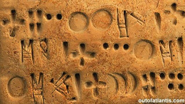 Tipos de escritura. La escritura cuneiforme.