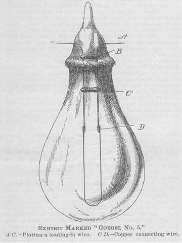 HEINRICH GOBEL: LIGHT BULB