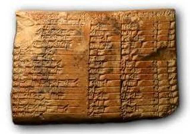 La evolución de los libros (Mesopotamía)