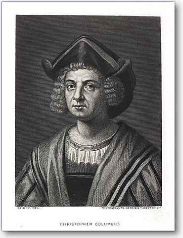 Christopher Columbus began his voyage to the new world