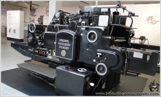 La imprenta en el siglo XX