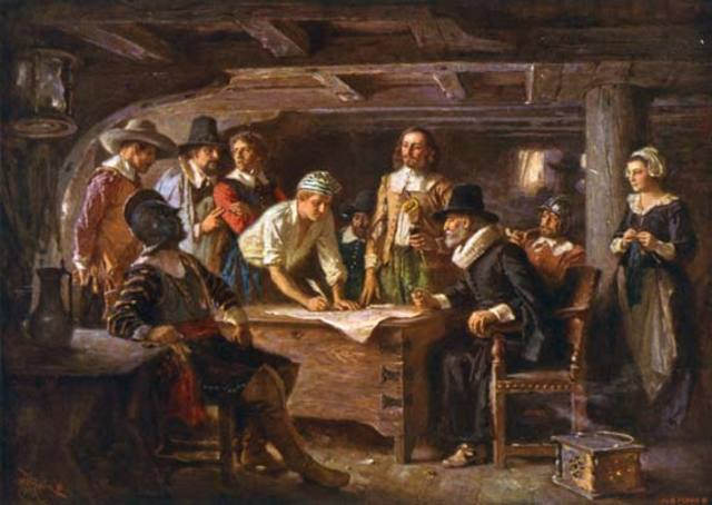 The Mayflower and the Mayflower Compact