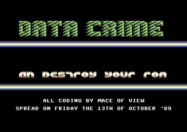 Вирус «Datacrime».