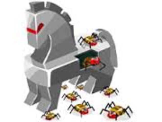 Создание вируса Троянский конь