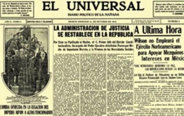 Estructura de los periódicos antiguos