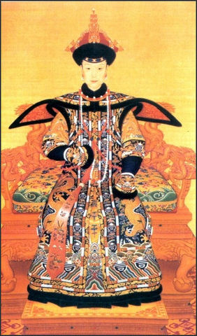 Manchus found the Qing Dynasty of China