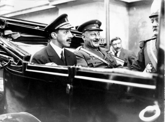 Alfonso XIII y Miguel Primo de Rivera