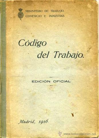 Código de trabajo de 1926