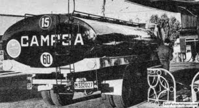 CAMPSA (Monopolio de  Petróleos)