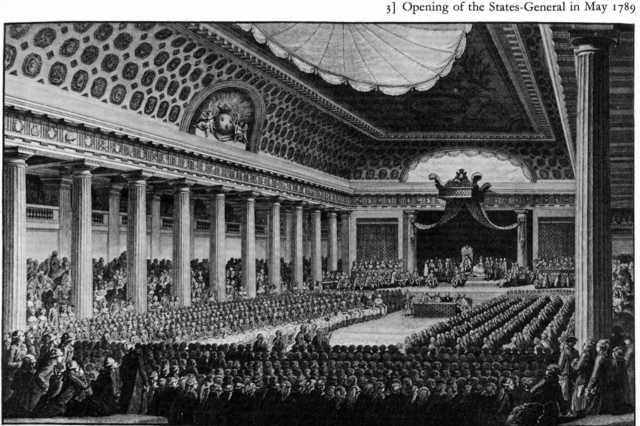 Apertura en Versalles de los Estados Generales