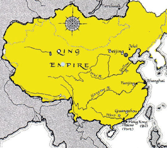 Founder Manchus and the Qing Dynasty of China