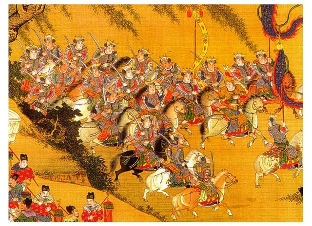 Manchus found the Qing Dynasty in China