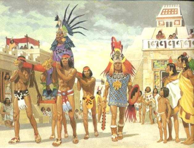 Aztecs Attack Spanish