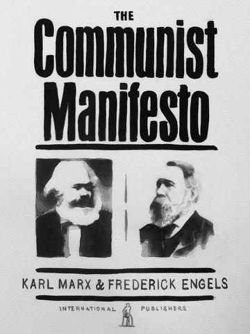 "Karl Marx and Friedrich Engels publish ""The Communist Manifesto"""