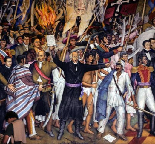 Mexico declares its independence from Spain
